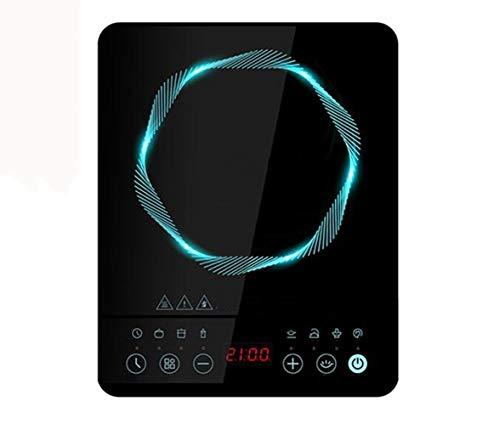 Draagbare inductiekookplaat, opzetbrander, 2100 W, draagbare lichtgewicht opzetbrander, digitale elektrische fornuisbrander, met timer 10 temperatuurinstellingen, geschikt voor thuis en keuken