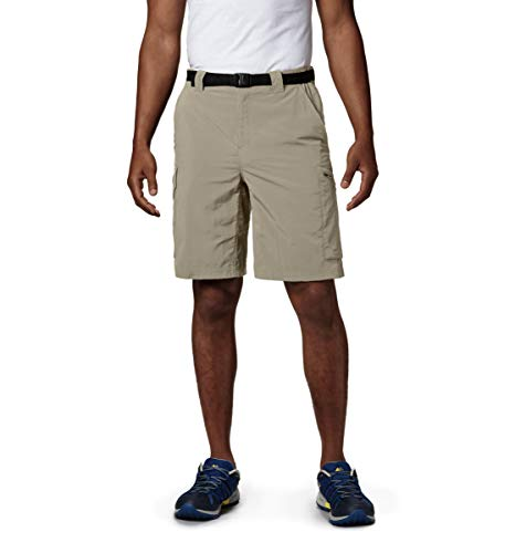 Columbia - AM4084 - Silver Ridge Cargo Short - Short - Homme - Beige (Fossil) - Taille: 48