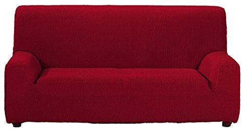 El Tintorer Funda de sofá Bielástica Nice (4 Plazas, Rojo)