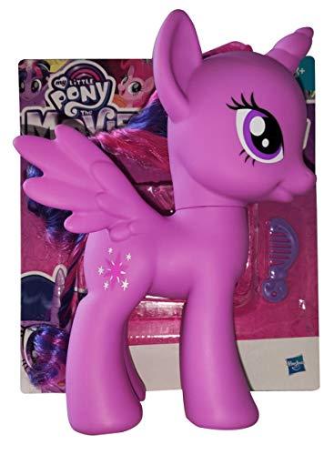 Hasbro My Little Pony The Movie C2168 Twilight Sparkle Figur 22 cm mit Kamm und Haaren zum Frisieren für Kinder zum Spielen und sammeln