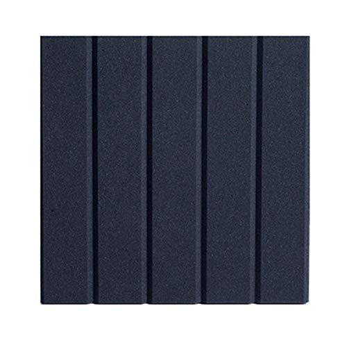 Corwar Schaum Akustikplatten Schalldichtes Studio für Wände Schallabsorbierende Platten Schalldämmplatten Keil für Heimstudio Decke 30 30CM