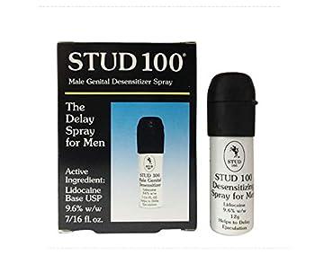Stud 100 Male Genital Desensitizer Spray 7/16- Fl Ounce Box  Pack of 2)