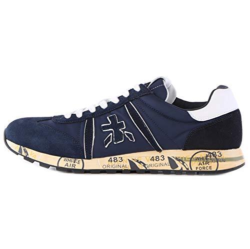 PREMIATA Lucy 5151 - Zapatillas Deportivas para Hombre, Color Azul Azul Size: 41 EU