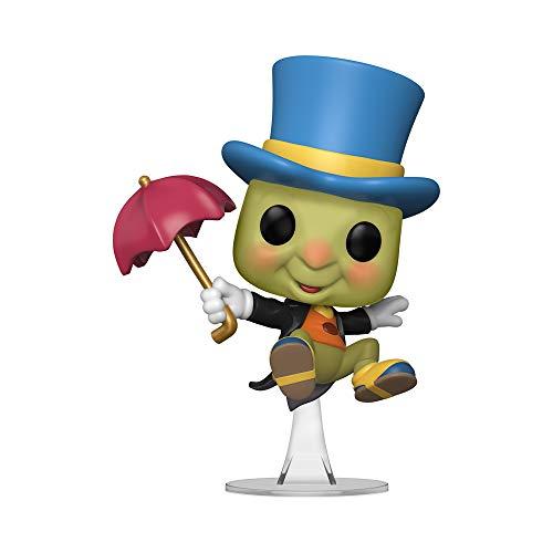 Funko Pop! Disney: Pinocho - Figura de criquet con paraguas, diseno de Jiminy Cricket con paraguas, 9,5 cm