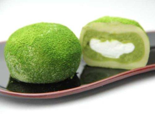 抹茶クリーム大福 15個入セット (抹茶×15)