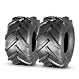 MaxAuto 20x10-8 20x10.00-8 20x10x8 Super Lug Lawn & Garden Tire, 4PR, Set of 2