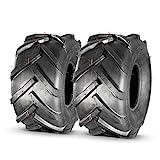 MaxAuto 2 Pcs 20x10.00-8 Super Lug Lawn & Garden Tire, 4PR