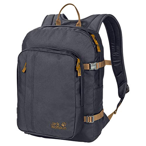 Jack Wolfskin Campus Bookpack Rucksack, Ebony, ONE Size