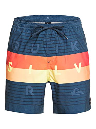 Quiksilver Herren Jam/Volley Word Block 17