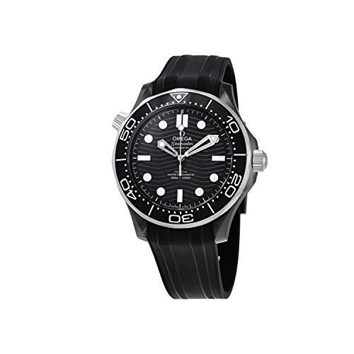 Omega Seamaster Diver 300M 43.5MM Ceramic Black Mens Watch 210.92.44.20.01.001