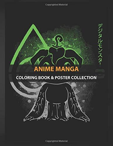 Coloring Book & Poster Collection: Anime Manga Sincerity Anime & Manga