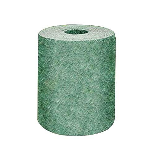 Biologisch abbaubare Rasensamenmatte, ganzjährig grün, 198x20,3 cm Quick Fix Rolle – All-in-One Lösung für Rasen, Hundepflaster