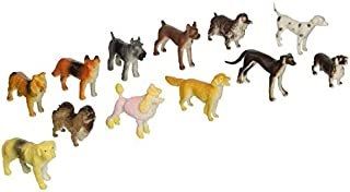 U.S. Toy Mini Dogs - Bulk (2-Pack of 12)