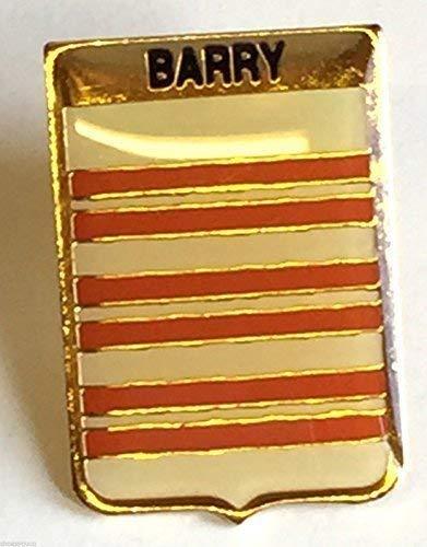 Irlandais Irlande Nom de Clan Barry Crêté Insigne de Goupille de Revers