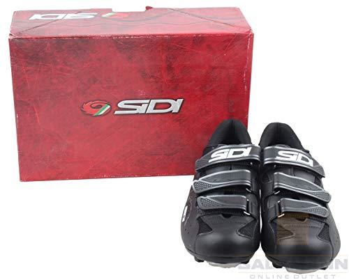 Sidi Scarpe MTB Giau Herren Rennradschuhe Sportschuhe Gr. 47 Schwarz Neu