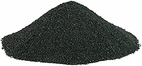 BLACK BEAUTY Abrasive Blast Media Fine Abrasive 20/40 Mesh Size for use in Sandblast Cabinet - 50 LBS