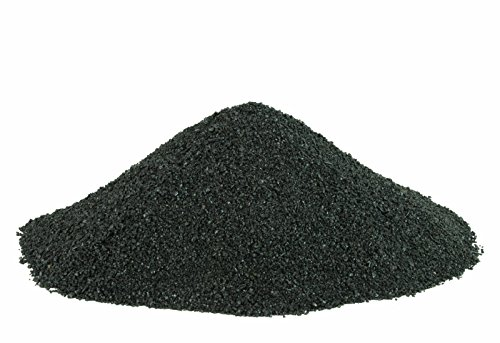 BLACK BEAUTY Abrasive Blast Media Medium Abrasive 12/40 Mesh Size for use in Sandblast Cabinet - 25 LBS