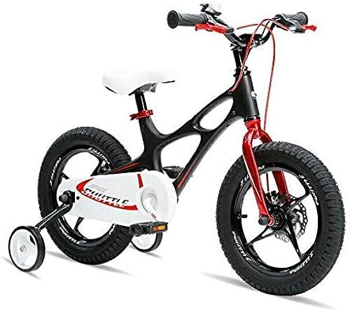 Kinderfürr r Sport & Freizeit Jugend Stunt Scooter Bike Abnehmbarer Stabilisator 14 16 Zoll Teen Push Scooter (Farbe   schwarz, Größe   14inch)