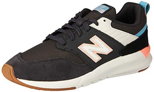 New Balance 009 - Zapatillas deportivas para mujer, Negro - Gris - Rojo - Azul - Blanco, 38