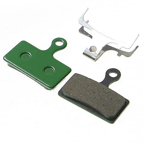 2 pares MTB Las almohadillas de freno de bicicleta sinterizadas de resina no son fáciles de deformar y fuertes para Shimano M985 M988 Para DERORE XT M785 / SLX M665 M675 Alfino ( Color : Yellow )