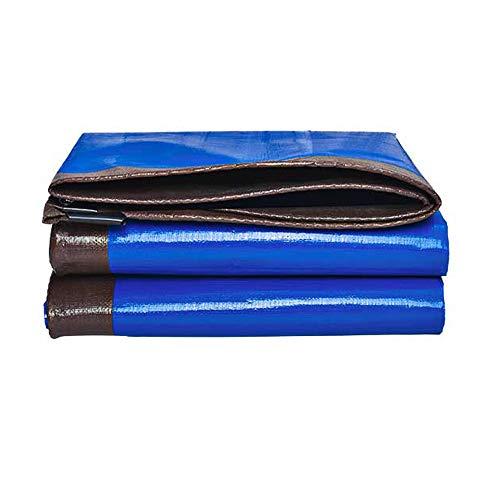 CSQHCZS-FSB Multifunctionele impregnering, zonnebescherming, PE (polyethyleen), zeil (blauw) | Waterdicht, zwaar werk, voor tenten | Camping | Hangmatten | Pool | Tuin | Auto | Motorfiets A+