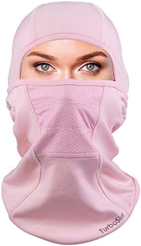 Ski Mask Balaclava face Mask Wind Water Resistant for Cold Weather Pink product image