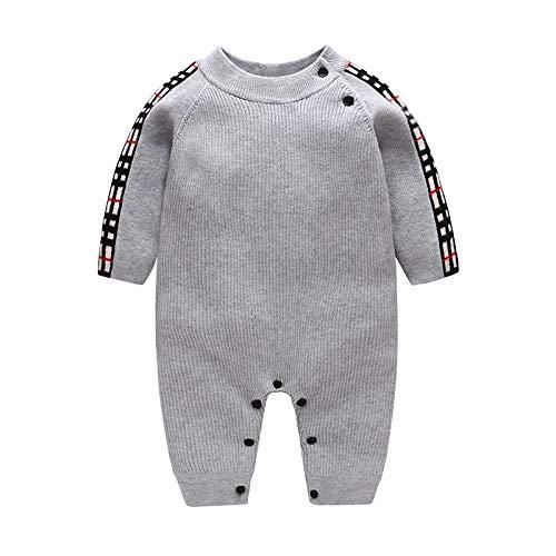 MMYYIP 2020 bébé vêtements pour Enfants d'hiver vêtements vêtements d'escalade en Tricot Laine Cachemire bébé Justaucorps,A,M
