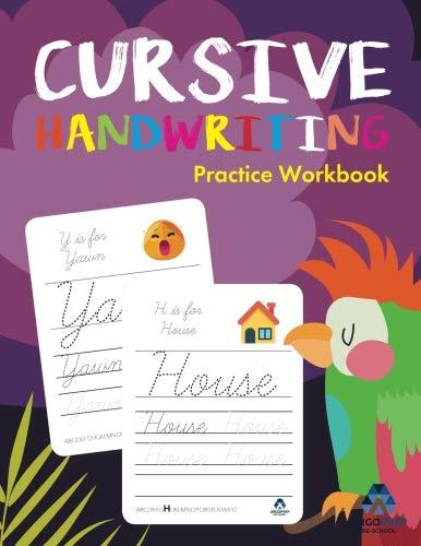 Cursive Handwriting Workbook: Preschoolers to 5th Grade | Ages 3+ and weekly FREE Bonuses