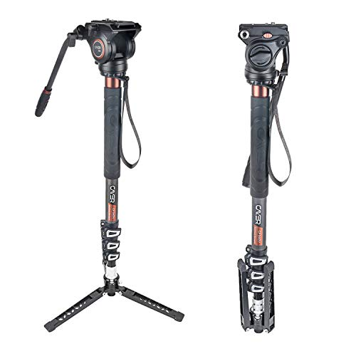 Cayer CF34DVH4 Monopod para Video Profesional...