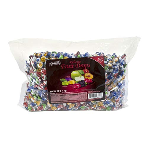 Product of Colombina Delicate Fruit Drops, 2.2 lbs.
