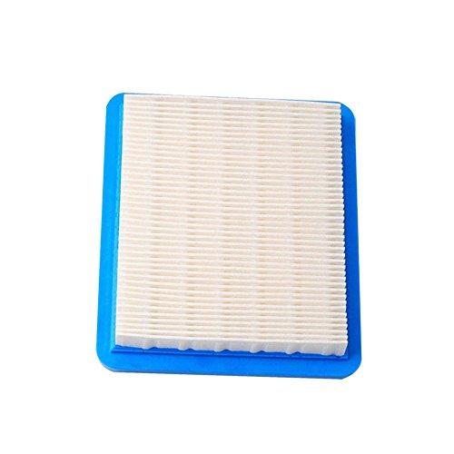 Majome 10 Stks grasmaaier vervanging onderdelen luchtfilter voor Briggs Stratton 491588 399959