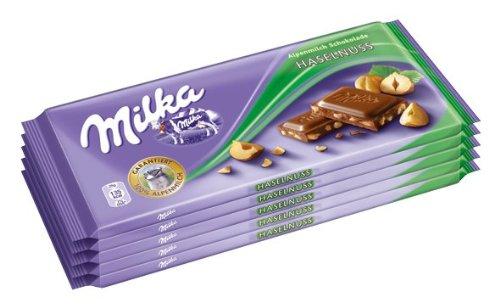 Milka Haselnuss, 10er Pack (10 x 100 g Packung)