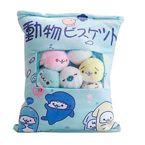 Juguetes de peluche de animales Una bolsa de mini ratón gato unicornio juguetes de peluche para niños almohada de dibujos animados figura de anime de Japón regalo creativo para niños o ella