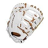 EASTON Professional Collection Fastpitch Softball Glove, 13', RHT, First Base Mitt, Dual Bar Single Post Web, PCFP313