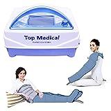 Mesis Top Medical Premium - Equipo de presoterapia médica con 2 polainas CPS + kit Slim Body +...