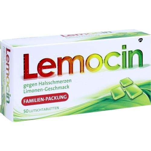 LEMOCIN gegen Halsschmerzen Lutschtabletten 50 St