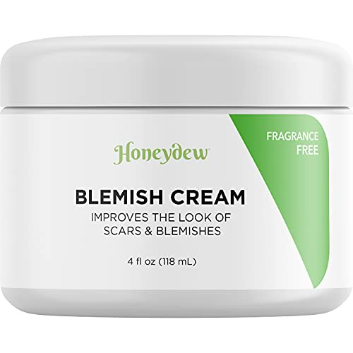 Scar Cream Face and Body Moisturizer - Whipped Blemish Cream for Stretch Marks and Old Scars with Shea Butter - Stubborn Scar Fade Cream and Vitamin E Oil Blemish Treatment for Face and Body Care