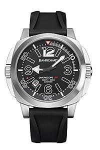 Jean Richard Diverscope LPR Mens watch 62130-11-60A-AC6D