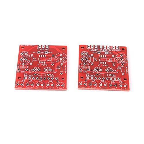 FSLLOVE FANGSHUILIN Mini 3W-Lautsprecherbox DIY. Kit mit transparentem Shell-Computer-Audio-elektronischen Komponenten