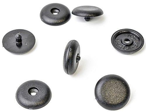 1 butoir universel pour ceinture de sécurité, clip, noir