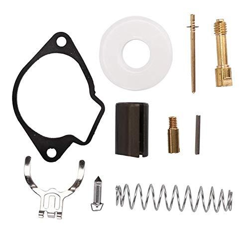 BGTR Accesorios de moto Universal carburador kit de reparación del sistema de combustible piezas encajan compatible for 2 Stroke 43cc 47cc 49CC Mini Moto de bolsillo motocicleta de la bici del carbura