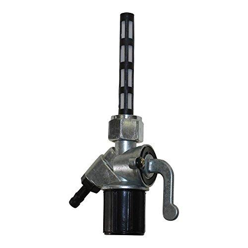 Benzinhahn schräg mit Wassersack für Simson S50, S51, SR1, SR2, MZ, ETZ, ES