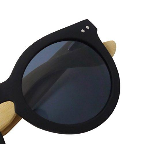 Occhiali da sole neri Fool Venezia 3 in plastica