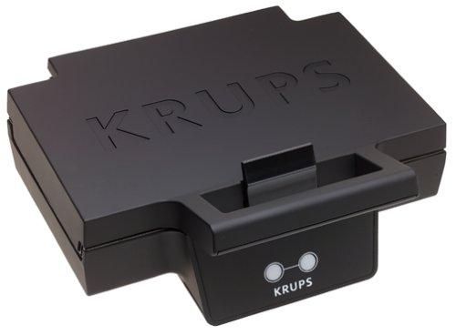 KRUPS FDK112 Sandwich Maker, Matte Black
