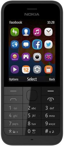 Nokia 220 SIM-Free Mobile Phone in Black