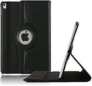 Black PU Leather 360 Degree Rotating Stand Case Cover for IPAD Air 2 SAPU