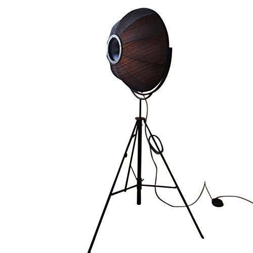 pallucco Fortuny Petite Pino de rubellli–Lámpara de pie, Negro Oro estructura Negro H: 168cm de 210cm