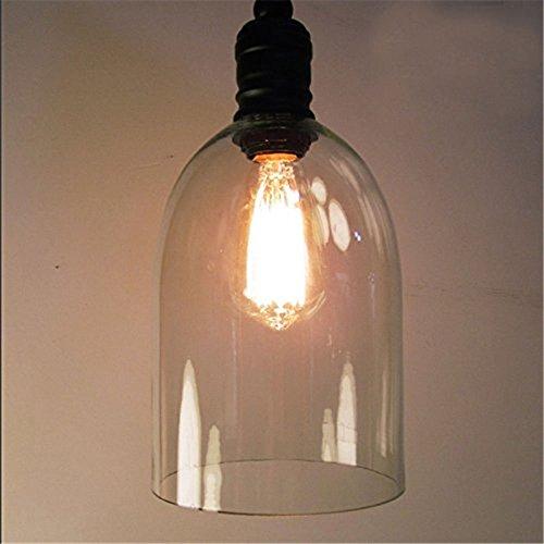 Industrielle Vintage Pendelleuchte E27 LED - 2