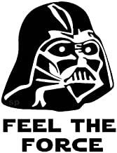 Star Wars Feel The Force Darth Vader Inspired Wall/Car/Toilet Sticker