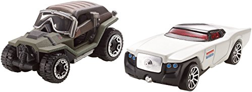 Hot Wheels Star Wars Car Jyn Erso Vs. Director Krennic, 2-Pack